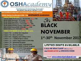 International HSE Level 1,2 &3 General HSE Courses