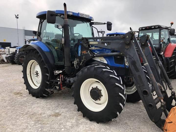 New Holland Ts115a - 2005