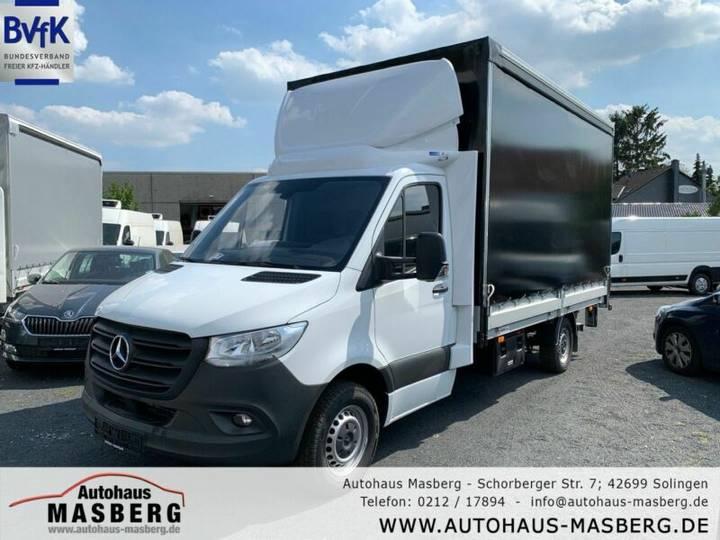 Mercedes-Benz Sprinter 316 Autom. Pritsche+Plane+LBW