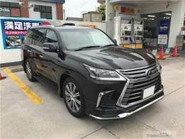 Lexus lx570 brand new 2016 model terms arranged for you