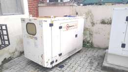 Old 13.5kva soundproof generator