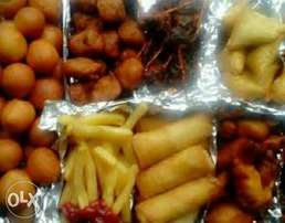 Delicious special small Chops made with Love.