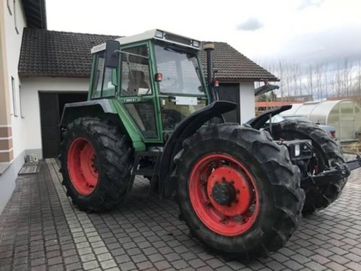 Fendt f 380 gta - 1991
