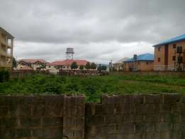 A plot measuring 1300sqms, C of O builadble & liveable at Wuye distric