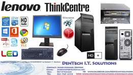 Demo Complete Lenovo Thinkcentre`s + LCD + Keyboard & Mouse + Warranty