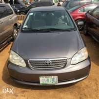 Neatly used Toyota Corolla 2006 model for grabs