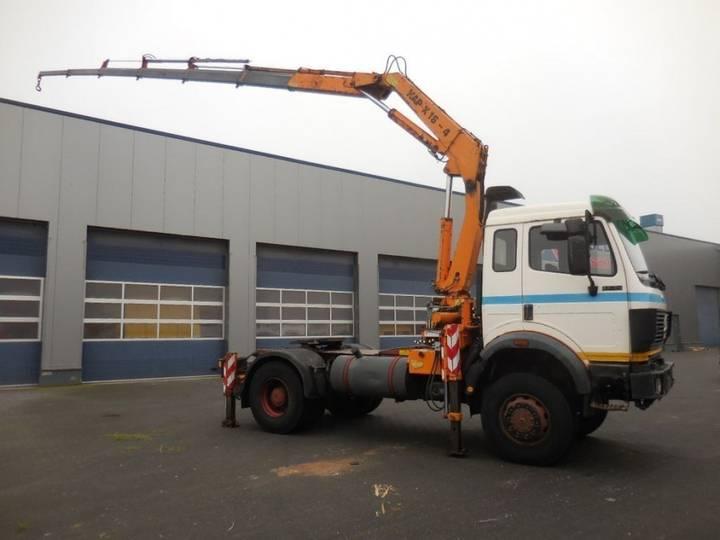 Mercedes-Benz 1735 V8 - 4x4 - Atlas 16 - 4 + 2, Kran Crane (german Truck - 1990