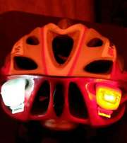 Bike lights set