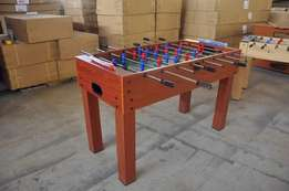 Table soccer board