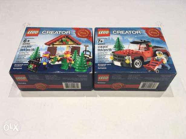 LEGO limited edition 2013 set 40082 and 40083