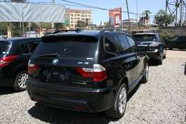 Fully loaded metallic black BMW X3