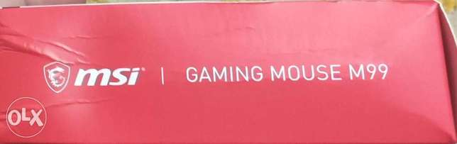 Msi M99 gaming mouse new