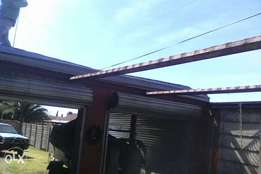 Carports , palisades , slidin gates , fencing , structures etc