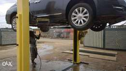 Wash the Underneath of your Car Sparkling Clean !!!
