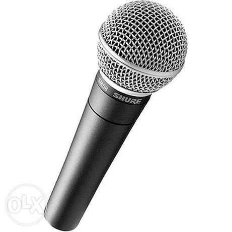 Shure Wireless and wired microphones Lagos - image 7