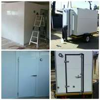 We manufacture and sell home cold rooms.