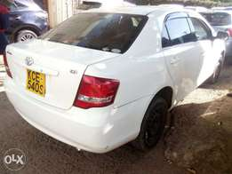 Toyota Axio pearl white accident free