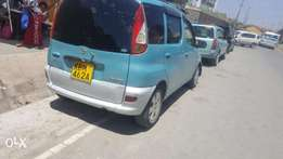 Toyota funcargo for sale