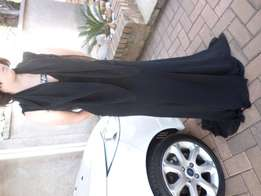 Black Dress with Scharl - Matric Farewell