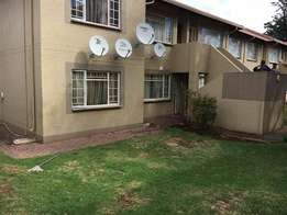 A spacious 2 bed ground unit for rent