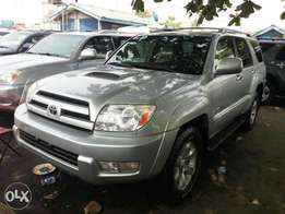 Toks 2005 Toyota 4runner. Silver. Limited edition