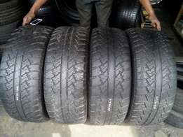 265/60/18 MAXTREK Tyre's for sell