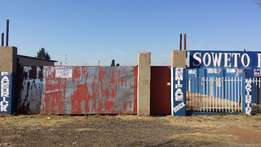 Vacant land for sale in Soweto