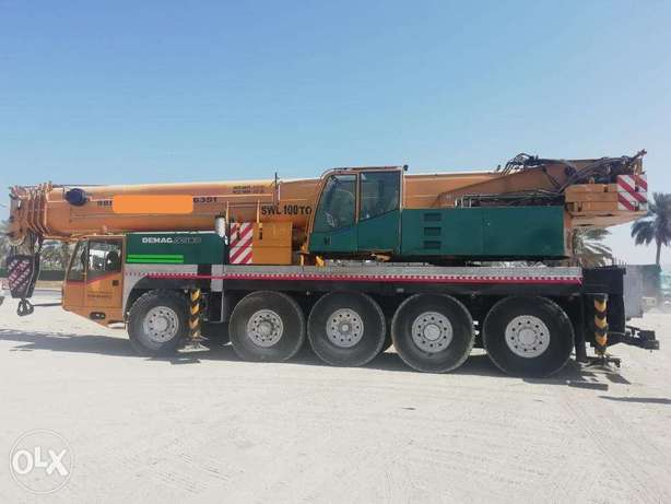 We have Mobile Cranes for monthly and day basis