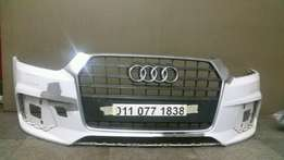2016 Audi Q3 Front Bumper and Grille