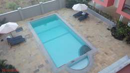Executive spacious 1 bedroom fully furnished apartment with a pool