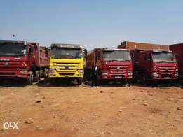 Bank sale trucks at 125m all in good condition