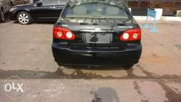 Black 2005 Toyota corolla for sale