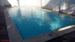 Executive spacious 3 bedroom fully furnished apartment with swimming