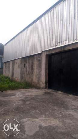 Warehouse with Separate compound at Ajao Estate Isolo. Church Etc Lagos Mainland - image 1