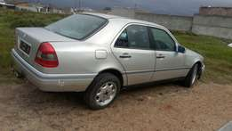 Stripping for spares . Mercedes-Benz C230 W202