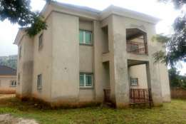 Katampe extension: an uncompleted 5 bedroom duplex, 2 rooms bq, 2500sq
