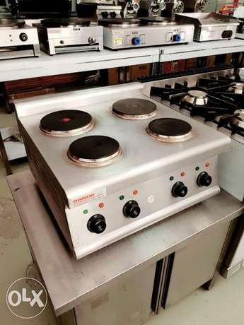 Electric cooker used