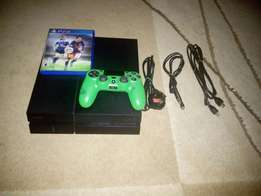 PlayStation 4, 500gb with FIFA 16