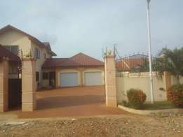 Five Bedrooms To Let at Spintex in Gated Community 24 Hours Securities