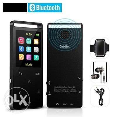 AGPTEK 8GB Bluetooth MP3 Player Touch Screen With FM