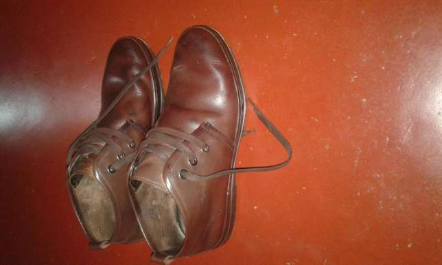 Original brown used leather shoes Kampala - image 2