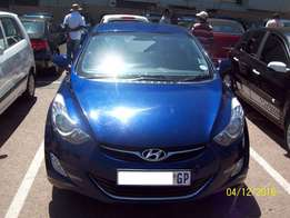 2012 Hyundai Elantra 1.8 GLS Executive Manual