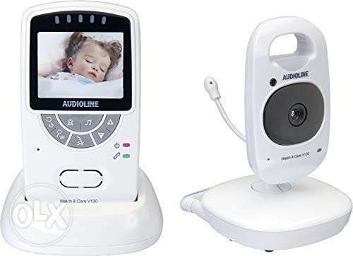 Audioline baby monitor Watch & Care V130