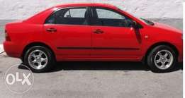 Toyota corolla . Excellent condition. 160i