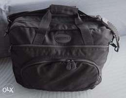 USA Brand Name Lands'End Business Deluxe Canvas Briefcase!