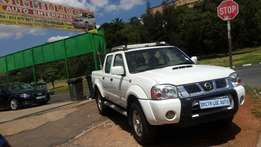 2007 nissan np300 2.4 diesel double cab for sale
