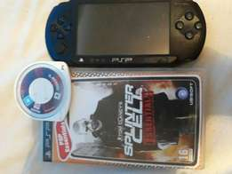 Psp.2games but no charger sorry good price tho
