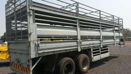 double axle trailer, pigs, sheep or goats...