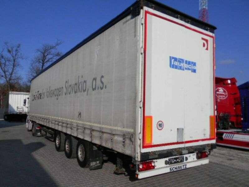 Schmitz Cargobull S02 Mega, Hubdach - 2006