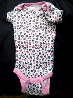 Amazing Baby girl cheetah prints Jumpsuits